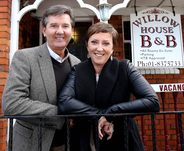 Daniel and Majella O'Donnell in their B&B Road Trip. The reality TV show was a major hit for UTV Ireland though the second series was snapped up by RTE