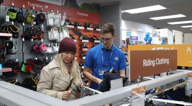 Retail workers with at least eight years experience had had a 247% pay rise, according to the study