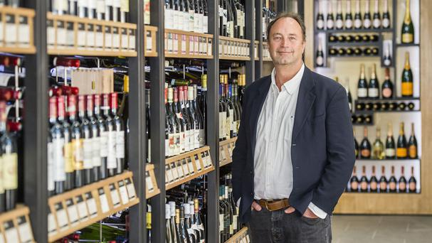 Majestic Wine chief executive Rowan Gormley cheered a 10.6% rise in underlying sales growth at £205.6 million (Majestic Wine/PA)