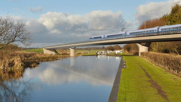 Almost all of the steel used in building the £55.7 billion HS2 will be British-made, the Transport Secretary indicated