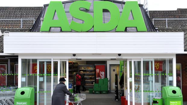 Asda reported a 5.8% fall in like-for-likes sales, excluding petrol, in its third quarter