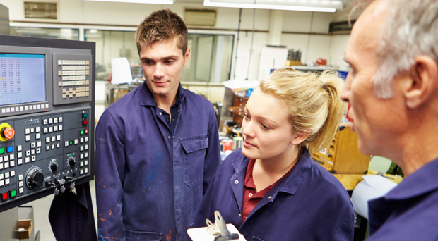 Companies will pay a charge for apprentices