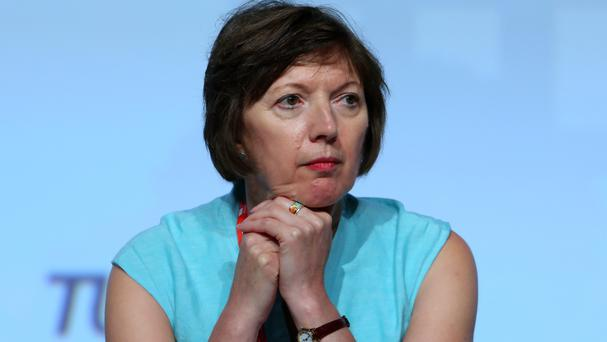 TUC general secretary Frances O'Grady says councils have only £25 million between them to ease pressures caused by migration