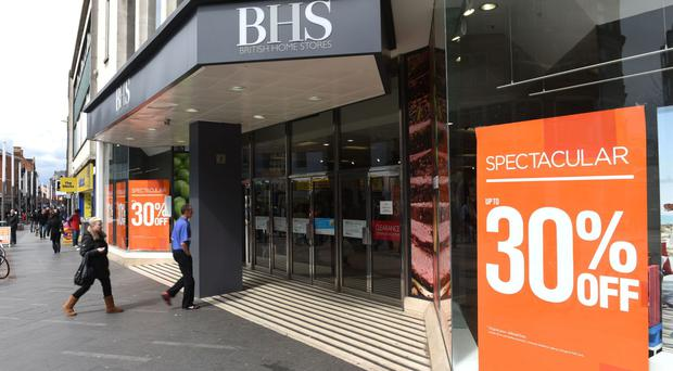 Closing down sales at BHS hit rival clothing retailer Bonmarche