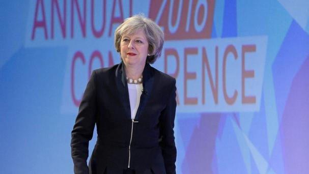 Prime Minister Theresa May won praise from the business sector, but less so from the unions