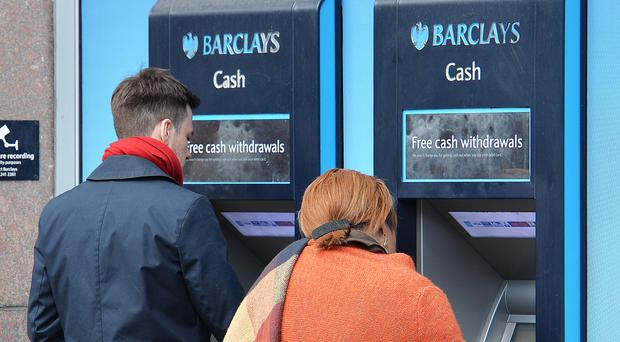 Barclays customers will be able to take out up to £100 at in-branch cash machines just by tapping their Android smartphones or contactless debit cards