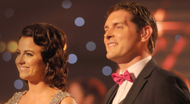 Lisa McHugh and Malachi Cush presented the Irish TV Country Music Awards in August last year