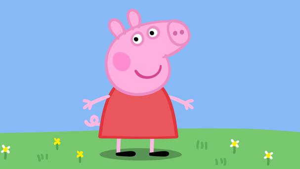 Peppa Pig helped Entertainment One's family division see revenues rise 16% to £37.9 million and earnings lift 13% to £24.7 million (Channel 5/PA)