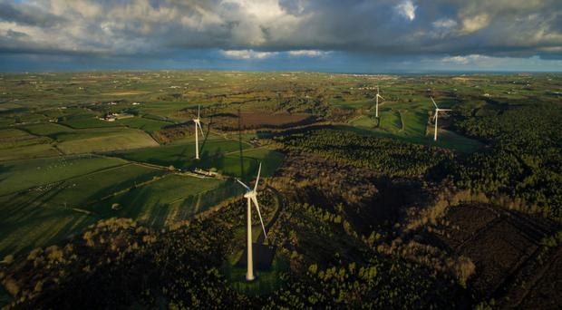 Gaelectric's Cloonty wind farm in Co Antrim