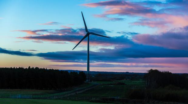 Gaelectric's Cloonty wind farm near Bushmills, one of four it operates in Northern Ireland