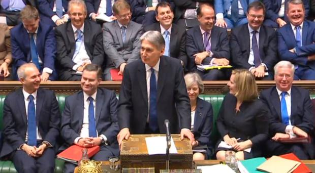 Chancellor Philip Hammond delivers his Autumn Statement in the House of Commons
