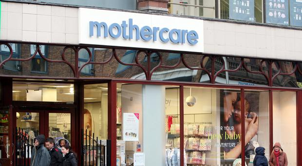 Mothercare said pre-tax profits fell 15.7% to £5.9 million