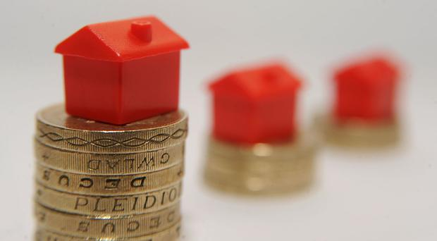 A high street banking report revealed mortgages approval figures were down 10% in October when compared with the same month in the previous year.