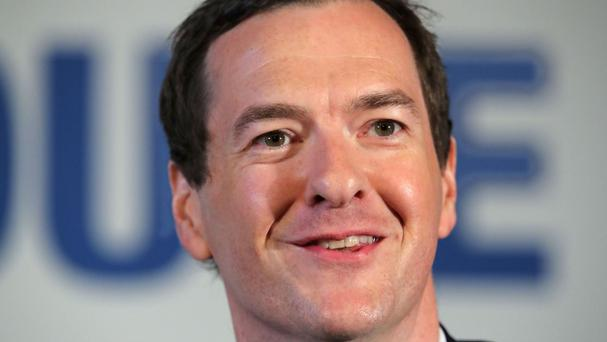 Former chancellor George Osborne made a number of speeches in the US