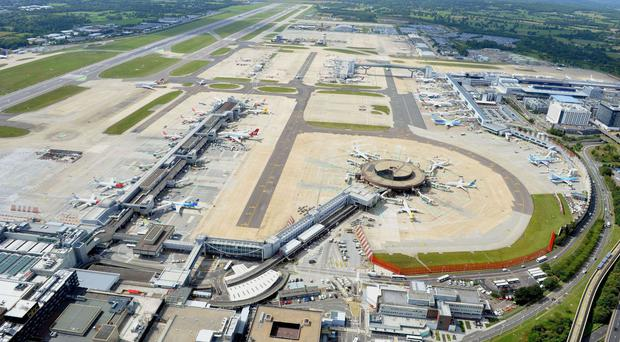 Gatwick Airport has seen profits fall compared to last year