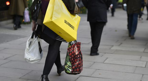 The colder weather prompted shoppers to stock up on winter clothes