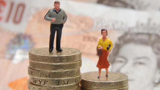 A study found the biggest gender pay gap to be in the East Midlands at almost 34%