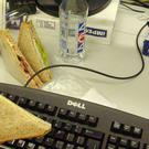 Office workers do not like colleagues eating strong-smelling food at their desk, a study found