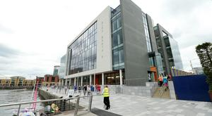 Recently opened City Quays 1 building is home to companies including international law firm Baker & McKenzie's Northern Ireland base.