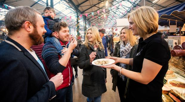 Taste & Tour NI is top of Tourism NI's list of food events and tours. Its Belfast tour takes in St George's Market