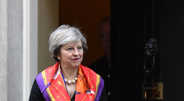 Theresa May announced the crackdown