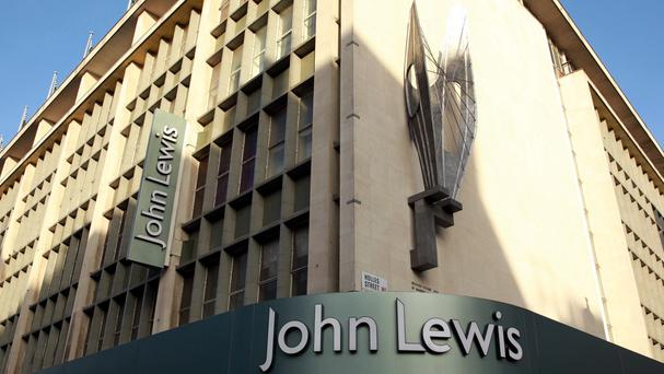 John Lewis was taking around five online orders per second during the busiest time on Friday morning