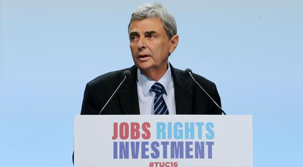 Dave Prentis, general secretary of Unison, says civil servants love their jobs but struggle with the pressure of trying to do more with less
