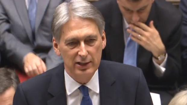 Chancellor Philip Hammond said no contingent liabilities were created by Government reassurances provided to Nissan