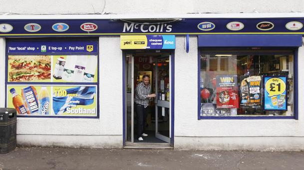 McColl's posted a 1.9% yearly rise in sales
