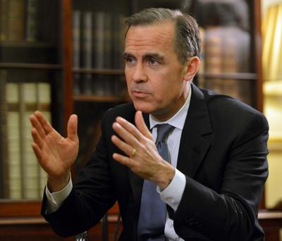 Bank of England governor Mark Carney has said the economy in the UK is relatively stable
