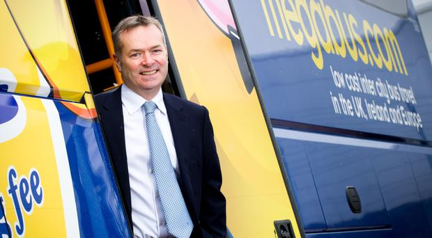 Stagecoach chief executive Martin Griffiths struck an upbeat tone, flagging a market opportunity for a shift from cars to public transport