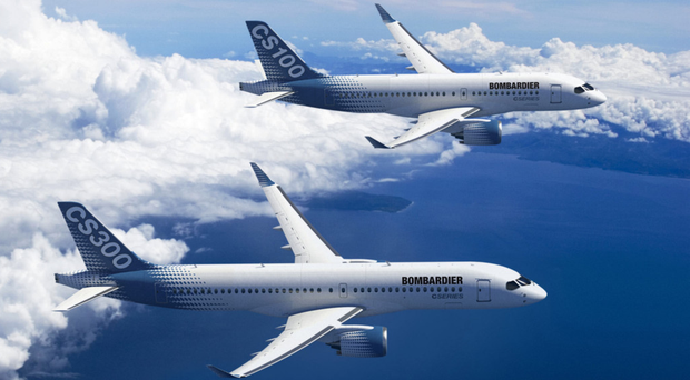 Bombardier has more than 350 orders for the aircraft
