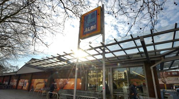 Aldi is hoping to attract more Christmas shoppers into its stores