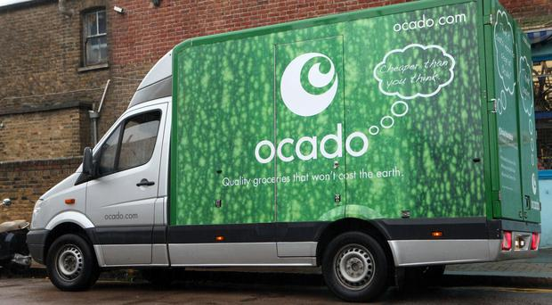 Ocado said retail sales jumped 13.1% to £398.1 million in the 16 weeks to November 27