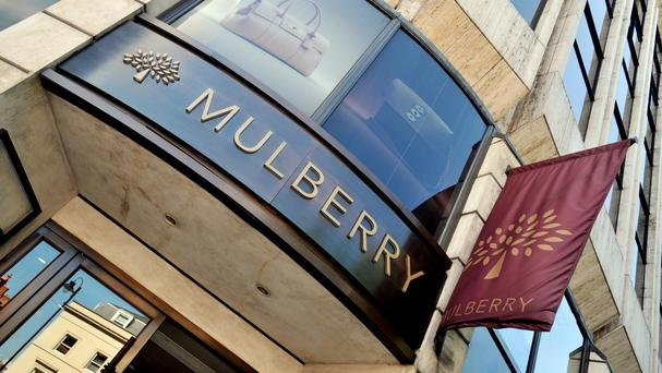 Mulberry said UK like-for-like retail sales rose 7% in the six months to September 30, boosted by sterling's sharp fall