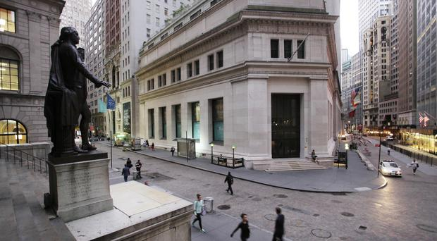 Banks continued to lead the way as bond yields jumped, and small-company stocks soared again (AP)