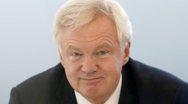 David Davis met City financiers to discuss Brexit