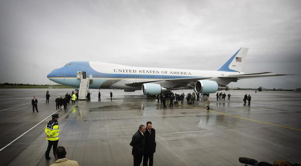 Donald Trump has also queried the cost of Air Force One