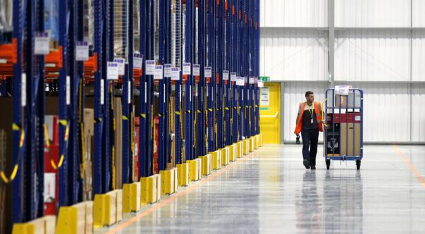 The Sunday Times reported that staff at Amazon's Dunfermline depot could face the sack if they are off work ill for four days