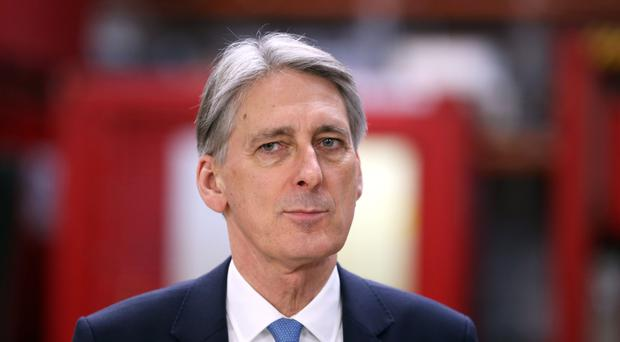 Philip Hammond hinted at a transitional deal.