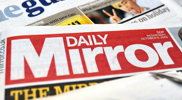 Trinity Mirror said it expects print advertising revenue to plummet 17% in the fourth quarter, compounded by a 5% fall in circulation
