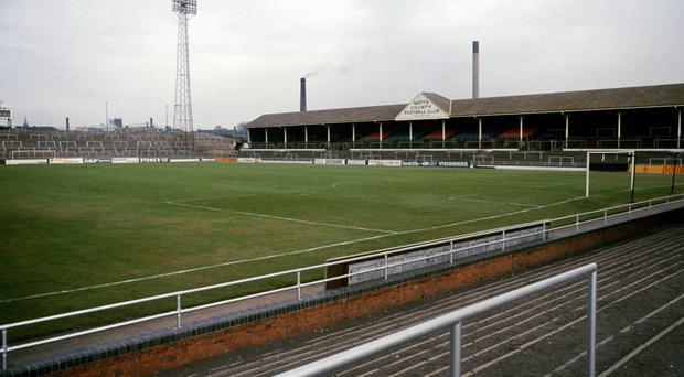 Meadow Lane, home of Notts County FC