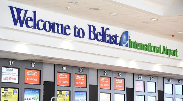 Belfast International Airport has seen more than five million passengers in 2016