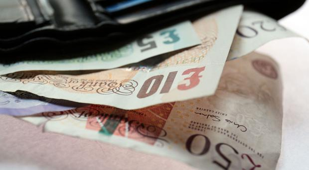 The debt is most likely to be between £1 and £250