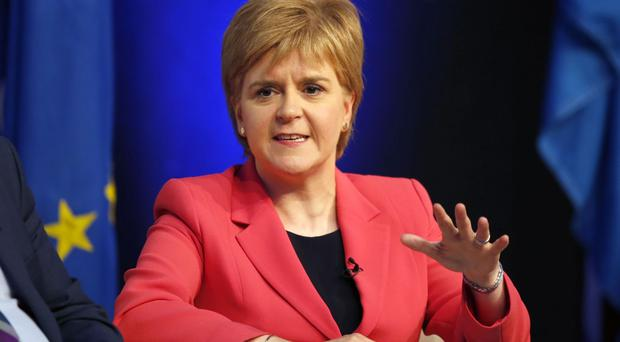 Nicola Sturgeon has warned against a hard Brexit