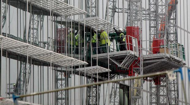 Construction is among the industries expecting to be hit by skills shortages