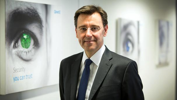 QinetiQ chief executive Steve Wadey