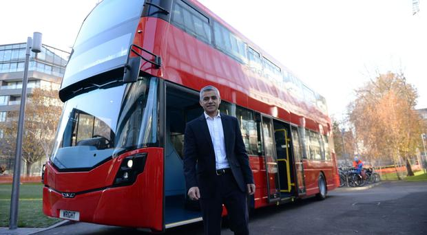 Sadiq Khan, whose father was a bus driver, said he wanted a fairer deal for workers