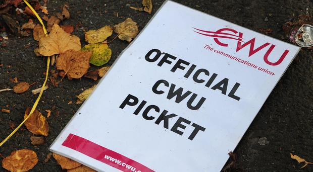 CWU members who deliver cash to Post Offices are to strike on Thursday and Friday