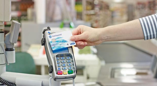 The association said there are now 100 million contactless cards in circulation, including both debit and credit cards (Barclaycard/PA)